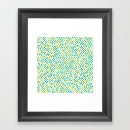 Happy Summer Brunch Framed Art Print