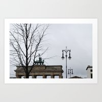 From Berlin with love Art Print