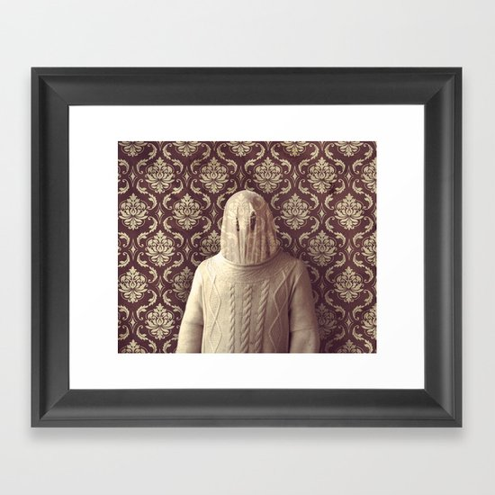 In which I spy a specter Framed Art Print