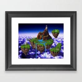 Floating Kingdom of ZEAL - Chrono Trigger Framed Art Print