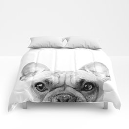 Bruno The French Bulldog Comforters