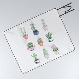 Succulents Picnic Blanket