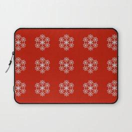 Snowflakes pattern Laptop Sleeve