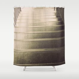 chaos is a ladder Shower Curtain