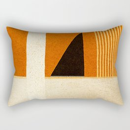 Solitaire du Figaro (ocre) Rectangular Pillow