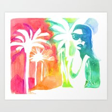 An injection of summer Art Print
