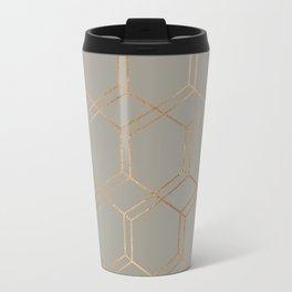geometric v x iv Travel Mug