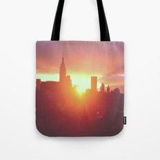 6:30am, New York Tote Bag