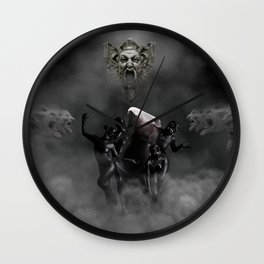 Laughing at my disaster Wall Clock