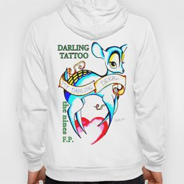Steph Darling Tattoo Designed at The Nines Tattoo and Art Parlor Hoody