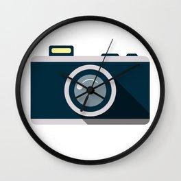 Camera Minimale Wall Clock