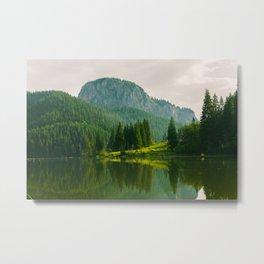 Red Lake, Romania Metal Print