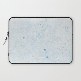 Blue Splatter Paint (Color) Laptop Sleeve