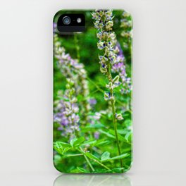 Lupines at Mariposa Grove iPhone Case