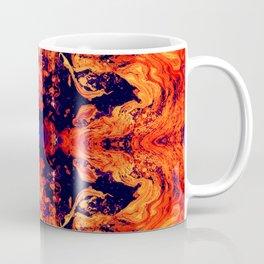 HARD RAYS Red Lava Coffee Mug
