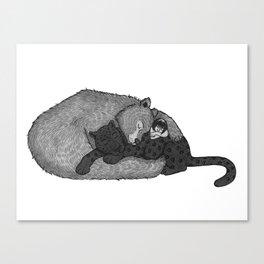 Jungle Book Snuggles Canvas Print
