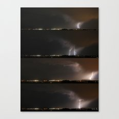 Stormed Canvas Print