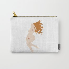 Digital illustration drawing venus feminist girl power Carry-All Pouch