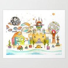 Minotaureland 2 Art Print