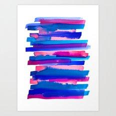 Color Study Art Print
