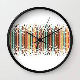 Tiny spheres Wall Clock