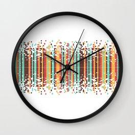 Tiny spheres Wall Clock