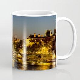 Pont des arts at nightfall - Paris, France Coffee Mug