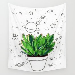 space plants Wall Tapestry