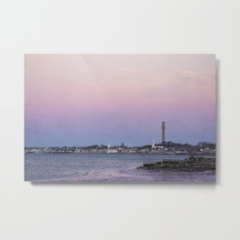 Purple Dawn, Provincetown Metal Print