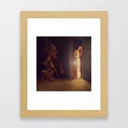 Pity the Shadow Framed Art Print