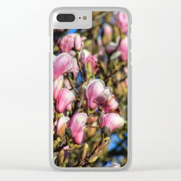 Blossom Tree Clear iPhone Case