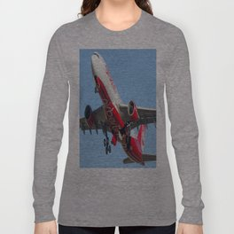 Air Berlin Airbus A330-223 Take-off Miami airplanes USA D-ALPJ Long Sleeve T-shirt