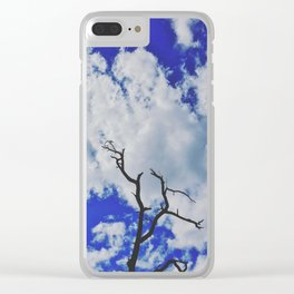 reach for the sky Clear iPhone Case