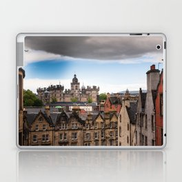 View of Edinburgh architecture from Victoria Street Laptop & iPad Skin