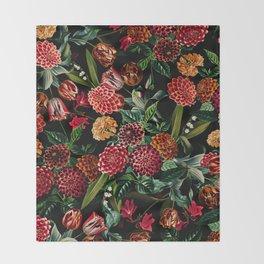 Magical Garden - II Throw Blanket