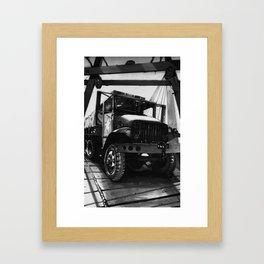 GMC Truck Part 1 Framed Art Print