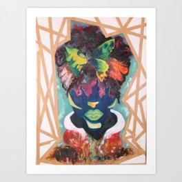 Buttered Anatomy Art Print