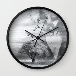 Fingertips Wall Clock