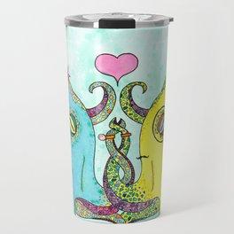 Octopus Wedding Travel Mug