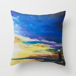Lighthouse Strong Throw Pillow
