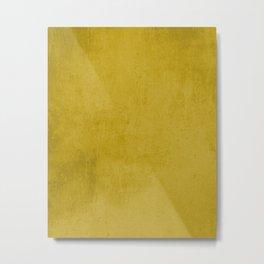 Yellow rustic Metal Print