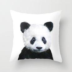 Little Panda Throw Pillow