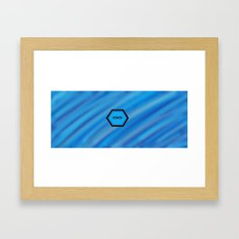 Chip To Enlightenment Framed Art Print