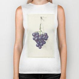 Bunch of blue grapes, Jean Bernard, 1775 - 1833 Biker Tank