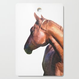Horse Portrait Cutting Board