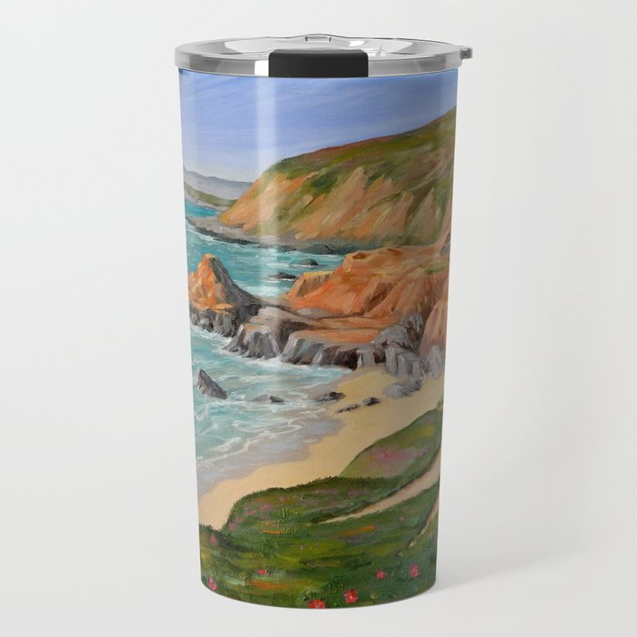 Bodega Head, Sonoma Co. CA Travel Mug