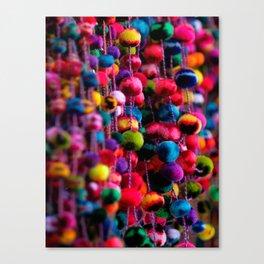 Color Fluffs Canvas Print