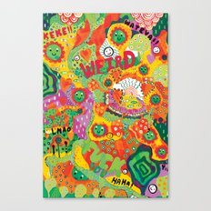 Rainbow Wars Canvas Print