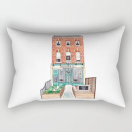 London: Wallace & Co. by Charlotte Vallance Rectangular Pillow