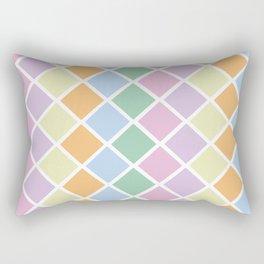 Pastel Diamonds Rectangular Pillow